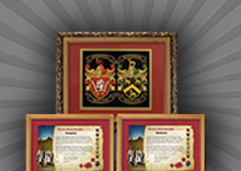 Deluxe Double Embroidery With Framed Histories