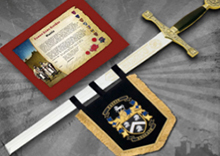 Banner Sword Set With Premium Sword