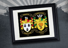 Double Embroidery With Framed History